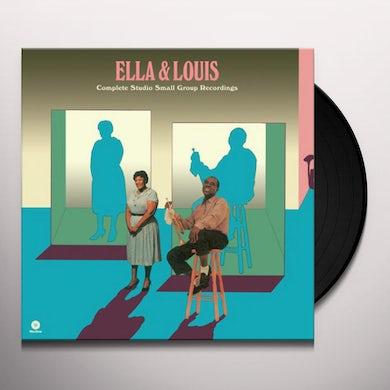 Ella Fitzgerald COMPLETE STUDIO SMALL GROUP RECORDINGS Vinyl Record - 180 Gram Pressing, Spain Release