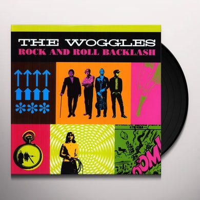 The Woggles ROCK & ROLL BACKLASH Vinyl Record