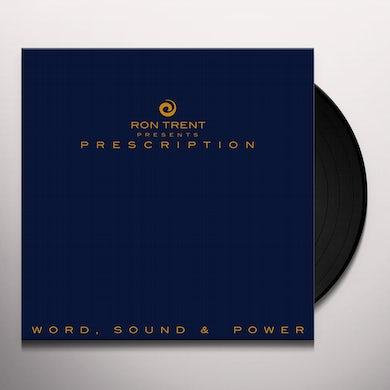 Ron Trent PRESCRIPTION: WORD SOUND & POWER Vinyl Record