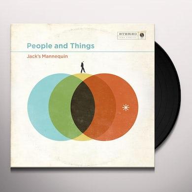 Jack's Mannequin PEOPLE & THINGS Vinyl Record