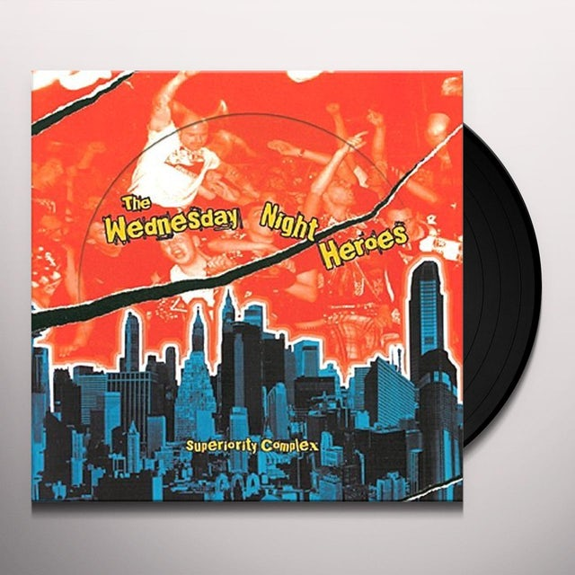 Wednesday Night Heroes SUPERIORITY COMPLEX Vinyl Record