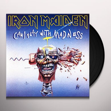 Iron Maiden CAN I PLAY WITH MADNESS Vinyl Record