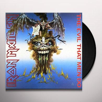 Iron Maiden EVIL THAT MEN DO Vinyl Record
