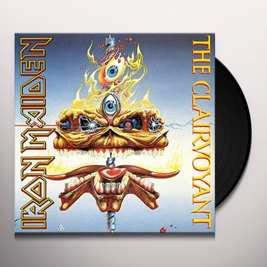 Iron Maiden CLAIRVOYANT Vinyl Record