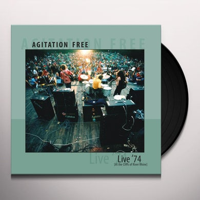Agitation Free Live '74 lp Vinyl Record