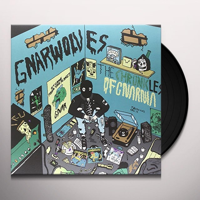 Gnarwolves CHRONICLES OF GNARNIA Vinyl Record - UK Release