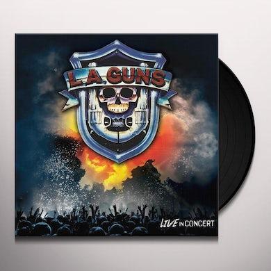 LA Guns LIVE IN CONCERT Vinyl Record