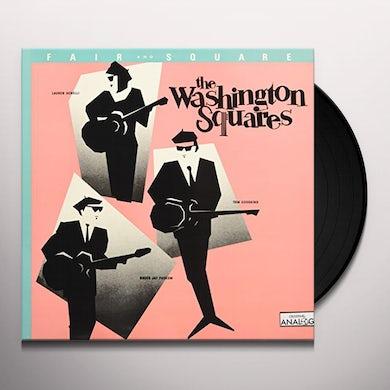 Washington Squares FAIR & SQUARE Vinyl Record