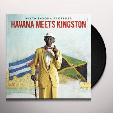 Mista Savona HAVANA MEETS KINGSTON Vinyl Record