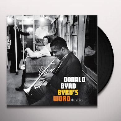 Byrd's Word Vinyl Record