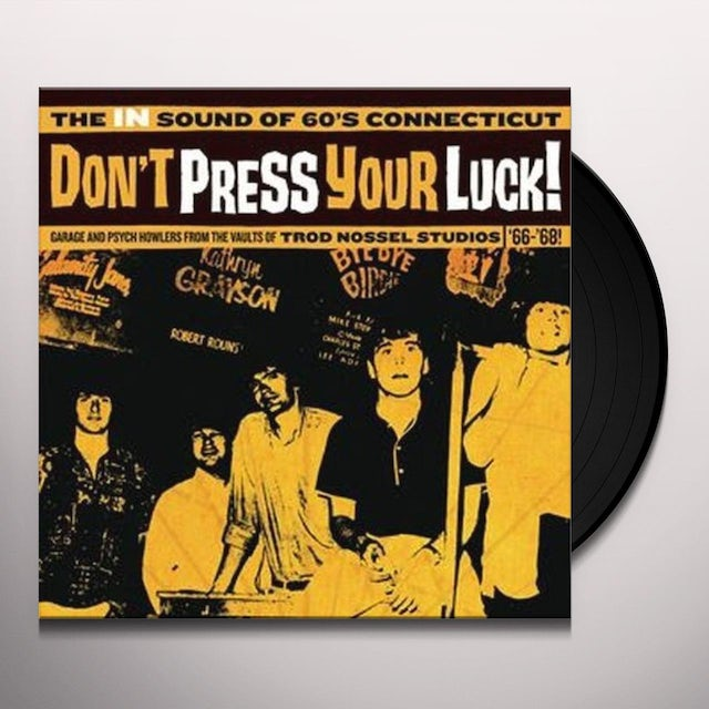 DON'T PRESS YOUR LUCK / VARIOUS