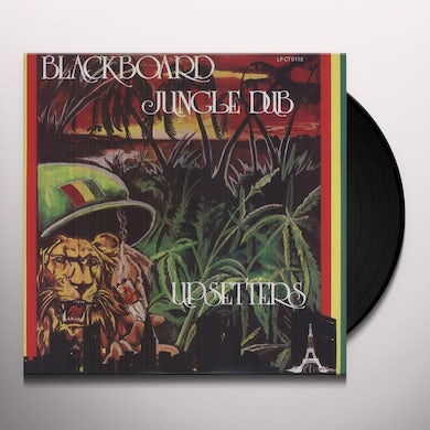 The Upsetters BLACKBOARD JUNGLE DUB Vinyl Record