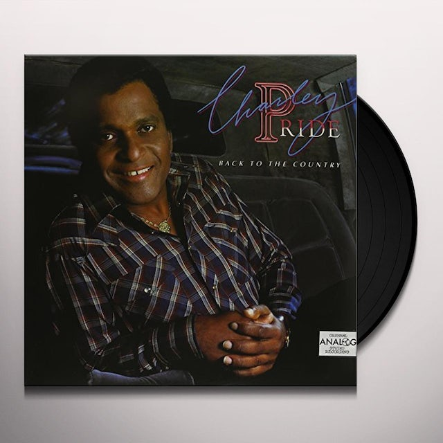 Charley Pride BACK TO THE COUNTRY Vinyl Record