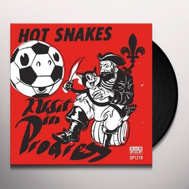 Hot Snakes AUDIT IN PROGRESS Vinyl Record