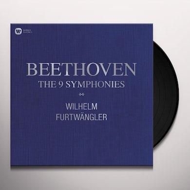 Wilhelm Furtwangler BEETHOVEN: 9 SYMPHONIES Vinyl Record