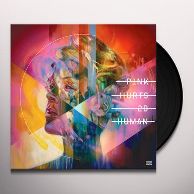 Pink Hurts 2B Human Vinyl Record