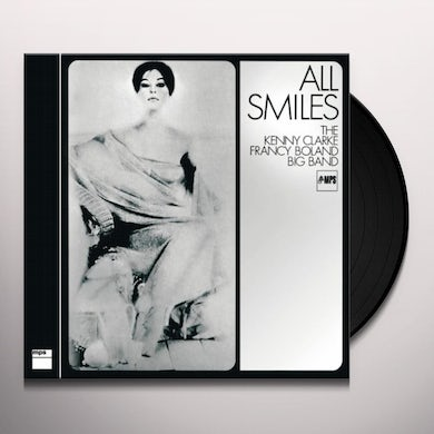 ALL SMILES - THE KENNY CLARKE FRANCY BOLAND BIG Vinyl Record