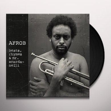 AFROB BEATS RHYMES & MR SCARDANELLI Vinyl Record