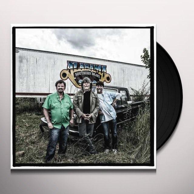 Alabama SOUTHERN DRAWL Vinyl Record - Limited Edition