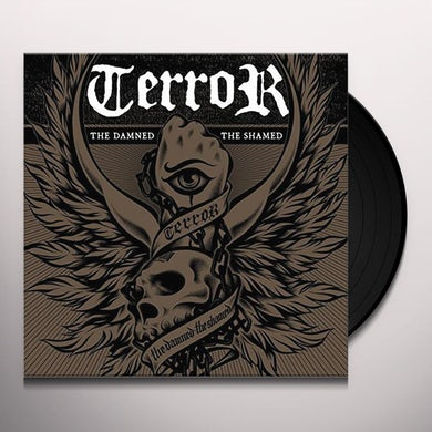 Terror DAMNED THE SHAMNED Vinyl Record