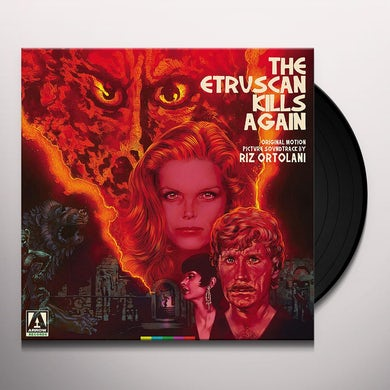 ETRUSCAN KILLS AGAIN / ORIGINAL MOTION PICTURE Vinyl Record
