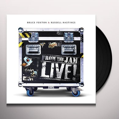 Bruce Foxton FROM THE JAM - LIVE Vinyl Record