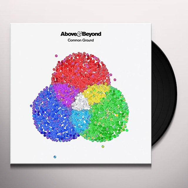 Above & Beyond COMMON GROUND Vinyl Record