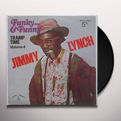 Jimmy Lynch FUNKY & FUNNY-TRAMP TIME 4 Vinyl Record - UK Release