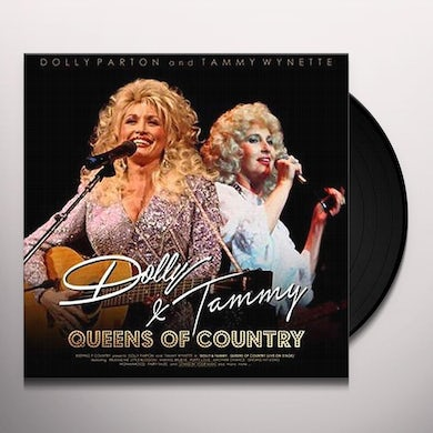 Dolly Parton / Tammy Wynette QUEENS OF COUNTRY: DOLLY & TAMMY Vinyl Record