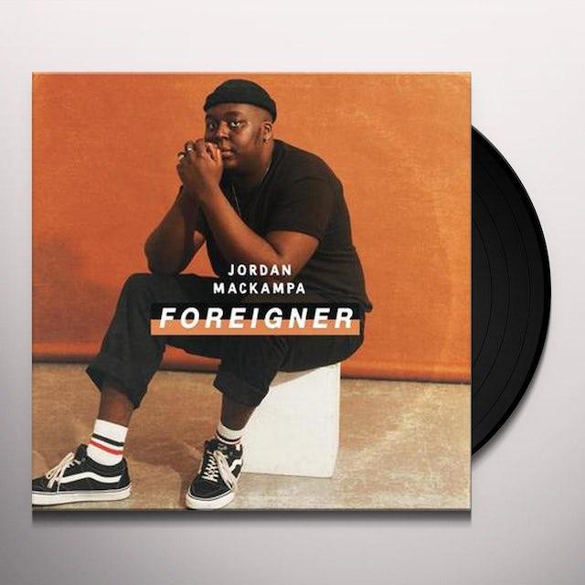 Jordan Mackampa FOREIGNER Vinyl Record