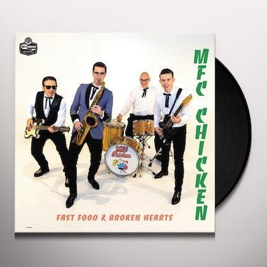 FAST FOOD & BROKEN HEARTS Vinyl Record