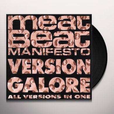 Meat Beat Manifesto VERSION GALORE Vinyl Record