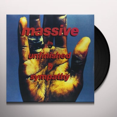 Massive Attack UNFINISHED SYMPATHY Vinyl Record - Holland Release