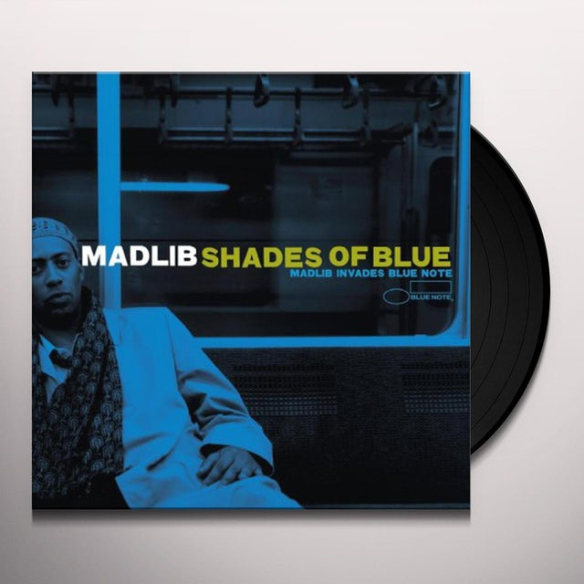 Madlib SHADES OF BLUE Vinyl Record