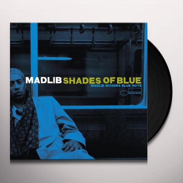 Madlib SHADES OF BLUE Vinyl Record