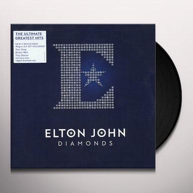 Elton John Diamonds (2 LP) Vinyl Record