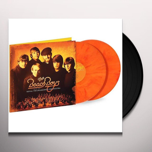 The Beach Boys WITH ROYAL PHILHARMONIC ORCH Vinyl Record