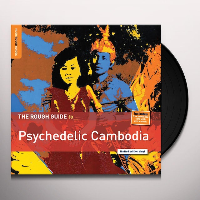 ROUGH GUIDE TO PSYCHEDELIC CAMBODIA / VARIOUS Vinyl Record