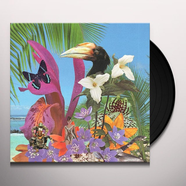 Monster Rally ADVENTURES ON THE FLOATING ISLAND Vinyl Record