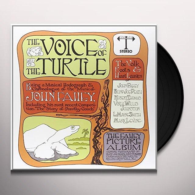 John Fahey VOICE OF TURTLE Vinyl Record