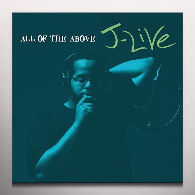 J-Live ALL OF THE ABOVE Vinyl Record
