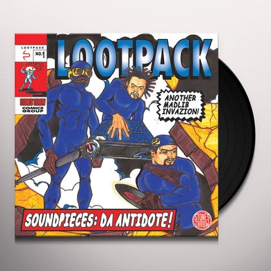 Lootpack SOUNDPIECES: DA ANTIDOTE Vinyl Record