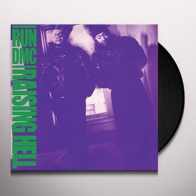 Run DMC RAISING HELL Vinyl Record