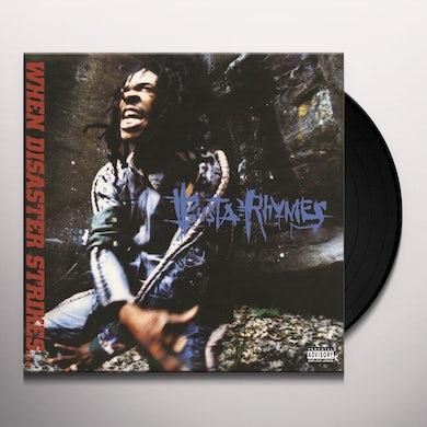 Busta Rhymes WHEN DISASTER STRIKES Vinyl Record