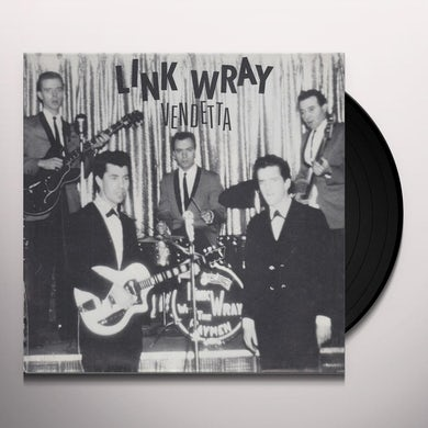 Link Wray VENDETTA / FACIN ALL THE SAME TOMORROWS Vinyl Record