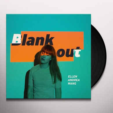 Ellen Andrea Wang BLANK OUT Vinyl Record