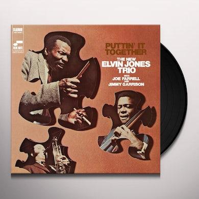 Elvin Trio Jones PUTTIN' IT TOGETHER Vinyl Record