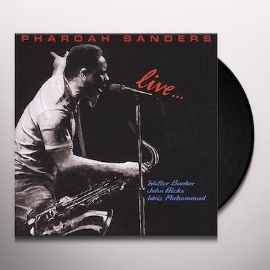 Pharoah Sanders LIVE Vinyl Record