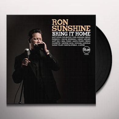 Ron Sunshine BRING IT HOME Vinyl Record