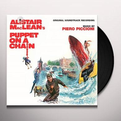 Piero Piccioni PUPPET ON A CHAIN / Original Soundtrack Vinyl Record